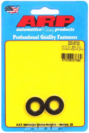 ARP M10 ID .850 OD chamfer black washers 2008720