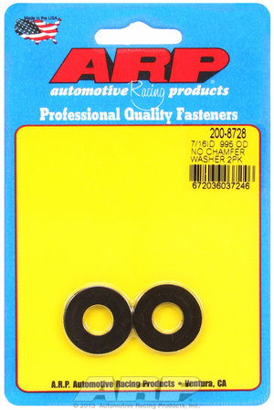 ARP 7/16 ID .995 OD black washers 2008728