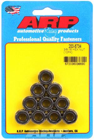 ARP 3/8-16 black hex nut kit 2008734