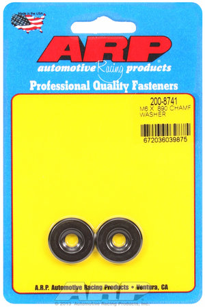 ARP M6 ID .890 OD black washers 2008741