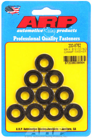 ARP M9 ID .812 OD black washers 2008762