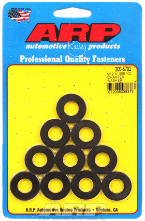 ARP M12 ID .995 OD black washers 2008792
