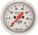 "Autometer Gauge, Oil Pressure, 2 1/16"", 7 BAR, Electric, Ultra-Lite 4363-M"