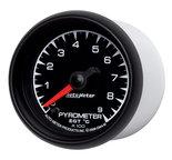 """Autometer Gauge, Pyrometer (EGT), 2 1/16"""", 900şC, Digital Stepper Motor, ES 5944-M"""