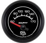 "Autometer Gauge, Oil Temp, 2 1/16"", 60-170şC, Electric, ES 5948-M"