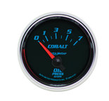 "Autometer Gauge, Oil Pressure, 2 1/16"", 7BAR, Electric, Cobalt 6127-M"