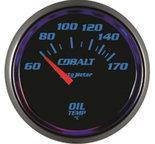 "Autometer Gauge, Oil Temp, 2 1/16"", 60-170şC, Electric, Cobalt 6148-M"