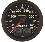 "Autometer Gauge, Water Temp, 2 1/16"", 100-300şF, Stepper Motor w/Peak & Warn, NASCAR CAN 8156-05702"