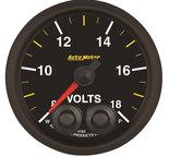 """Autometer Gauge, Voltmeter, 2 1/16"""", 18V, Stepper Motor w/Peak & Warn, NASCAR CAN 8183-05702"""