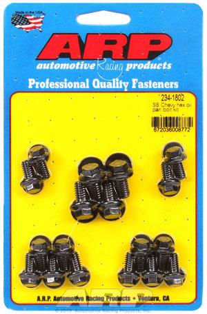 ARP SB Chevy hex oil pan bolt kit 2341802