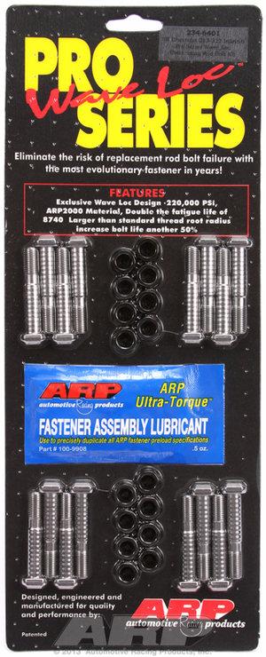 ARP SB Chevy 283-327 & Inline 6 wave-loc rod bolt kit 2346401