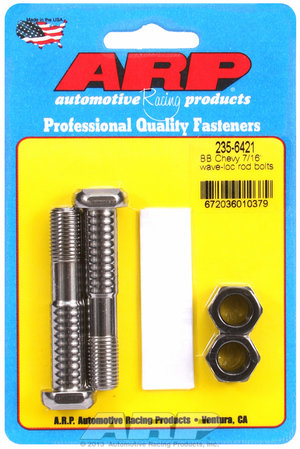 "ARP BB Chevy 7/16"" wave-loc rod bolts 2356421"