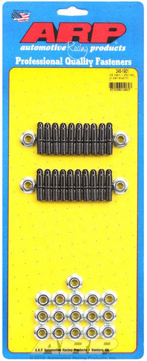 "ARP KB Hemi 1.300"" hex oil pan stud kit 2451901"