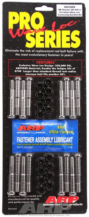 ARP Chrysler 383-440c.i.d. wave-loc rod bolt kit 2456402