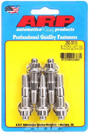 """ARP Ford 9"""" SS 12pt pinion support stud kit 2503010"""