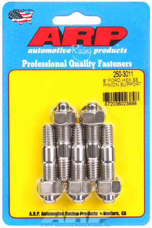 """ARP Ford 9"""" SS hex pinion support stud kit 2503011"""