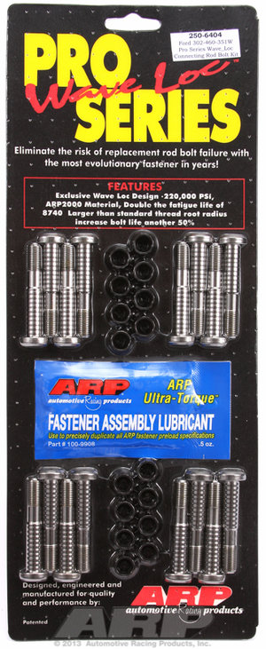 ARP Ford Boss 302-429-460-351W wave-loc rod bolt kit 2506404