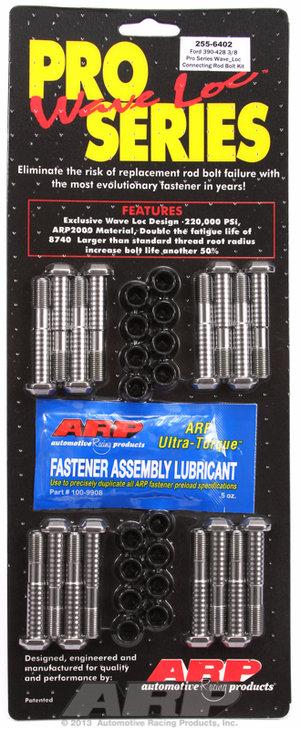 ARP BB Ford 390-428 wave-loc rod bolt kit 2556402