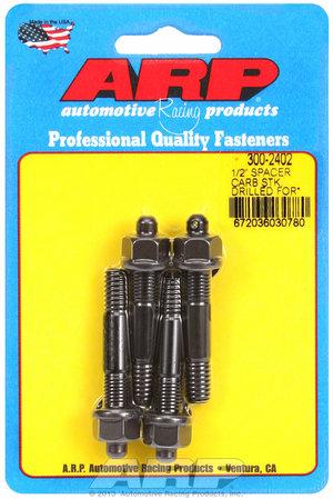 "ARP 1/2"" drilled carburetor spacer stud kit 3002402"