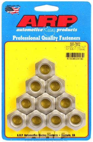 ARP 5/8-11 wheel stud nut kit 3007802