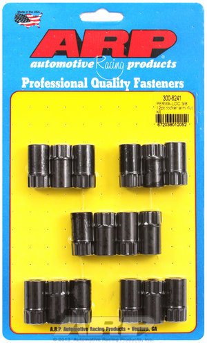 ARP Adjustable 3/8 12pt rocker arm nut kit 3008241