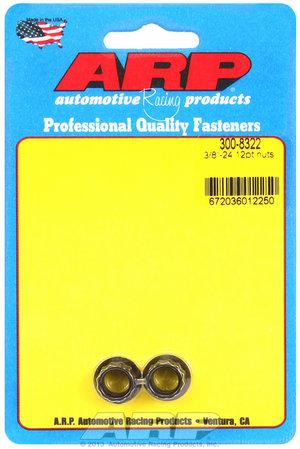 ARP 3/8-24 12pt nut kit 3008322