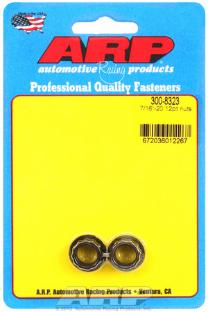 ARP 7/16-20 12pt nut kit 3008323