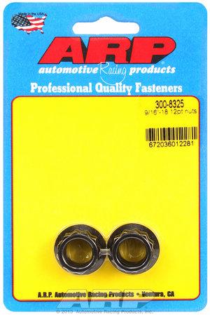 ARP 9/16-18 12pt nut kit 3008325