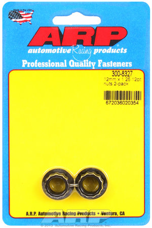 ARP M12 x 1.25 12pt nut kit 3008327