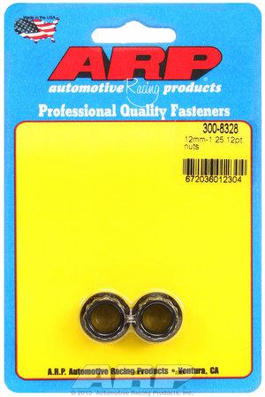 ARP M12 x 1.25 12pt nut kit (small collar) 3008328