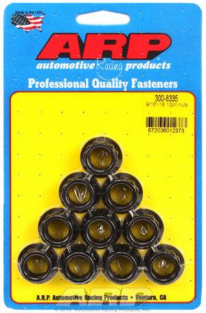 ARP 9/16-18 12pt nut kit 3008335