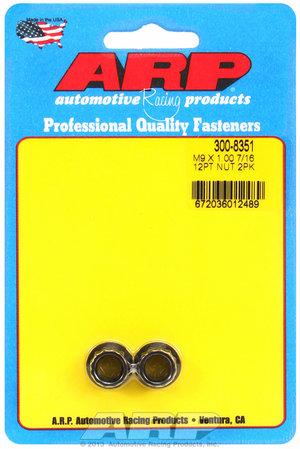ARP M9 x 1.00  12pt nut kit 3008351