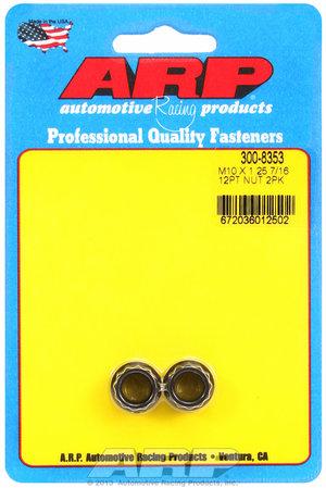 ARP M10 x 1.25  12pt nut kit 3008353