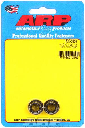ARP M10 x 1.25  12pt nut kit 3008354