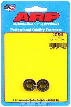 ARP M10 x 1.50  12pt nut kit 3008355