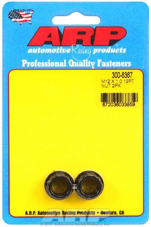 ARP M12 X 1.00 12pt nut kit 3008367