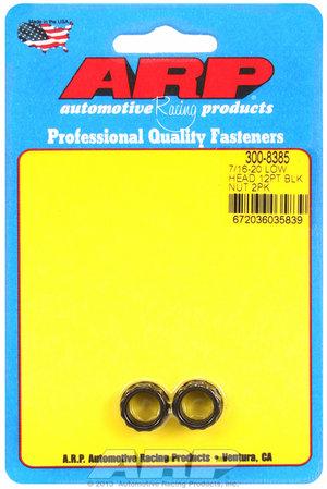 ARP 7/16-20, low head, .600 flange OD 12pt nut kit 3008385