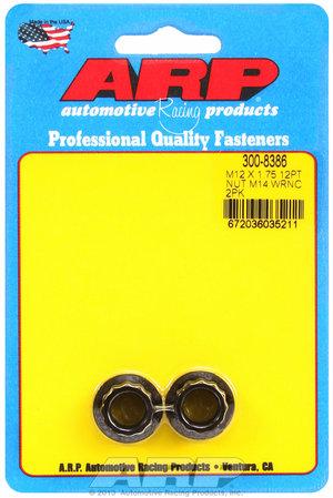 ARP M12 X 1.75 M14 socket 12pt nut kit 3008386