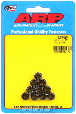 ARP M6 X 1.00 12pt nut kit 3008390