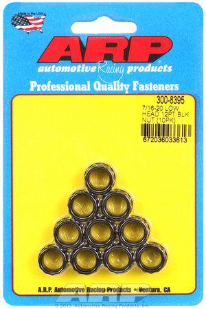 ARP 7/16-20, low head, .600 flange OD 12pt nut kit 3008395