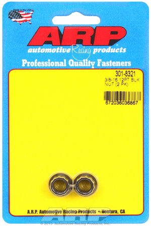 ARP 3/8-16 12pt nut kit 3018321