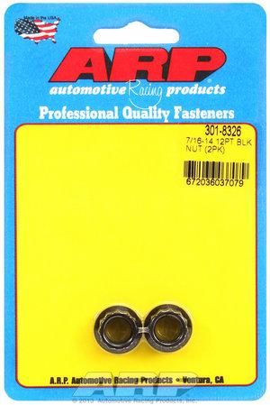 ARP 7/16-14 12pt nut kit 3018326
