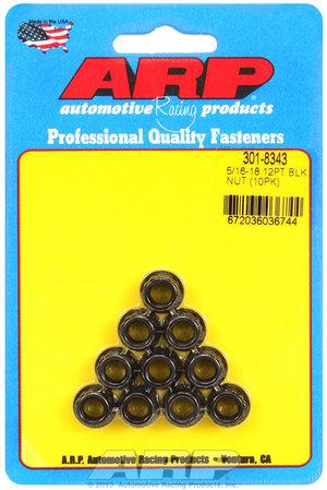 ARP 5/16-18 12pt nut kit 3018343