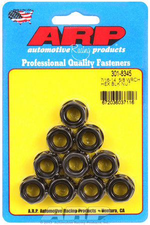 ARP 7/16-14 hex nut kit 3018345