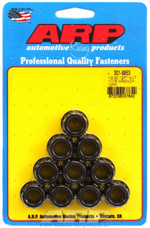 ARP 1/2-20 11/16 socket 12pt nut kit 3018353