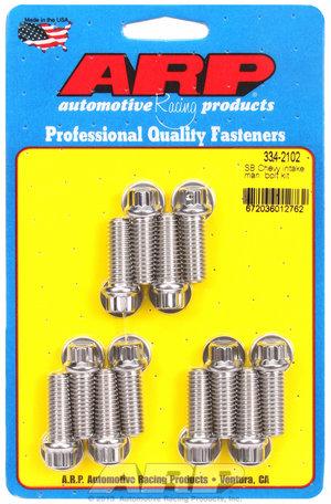ARP SB Chevy intake manifold bolt kit 3342102
