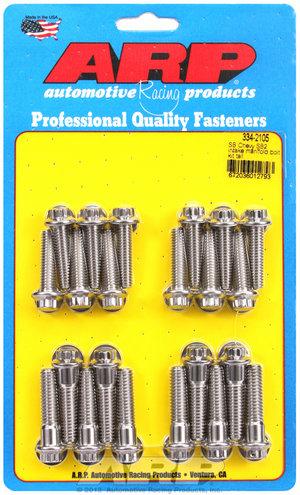 ARP SB Chevy SB2 intake manifold bolt kit tall 3342105