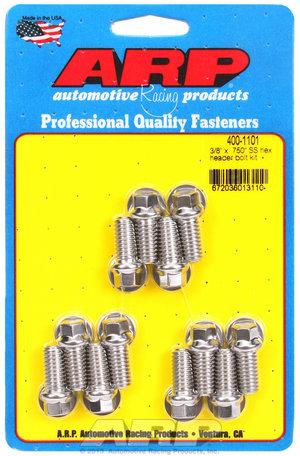 ARP 3/8 x .750 SS hex header bolt kit 4001101