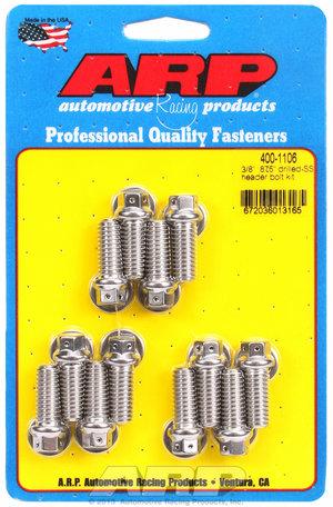 ARP 3/8 x .875 drilled SS header bolt kit 4001106