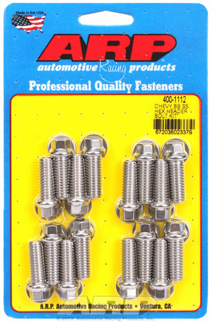 ARP BB Chevy SS hex header bolt kit 4001112
